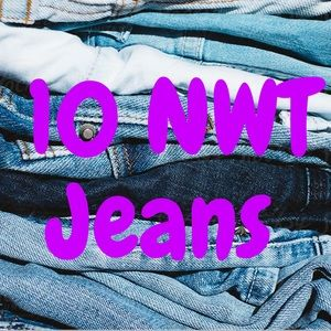 10 Pairs Of NWT Jeans!